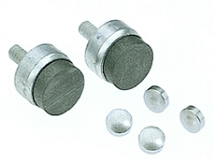 Graphalloy contacts